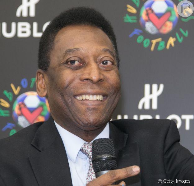 Pelé segue internado na UTI (Unidade de terapia intensiva) do hospital Albert Ainstein, em São Paulo, neste sábado, 29 de novembro de 2014