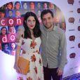 Gregorio Duvivier e Clarice Falcão começaram a namorar em 2009, quando a atriz integrou o elenco da peça 'Confissões de Adolescente'