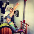 Isis Valverde está pegando pesado nos exercícios físicos para o verão