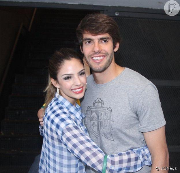 Kaká e Carol Celico já entraram com o pedido de divórcio