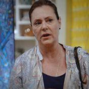 Novela 'Alto Astral': nervosa, Tina nega conhecer o pai de Laura (Nathalia Dill)