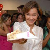 Julia Lemmertz faz aniversário de 50 anos: 'Quero envelhecer em paz e com saúde'