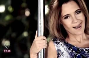 Ana Maria Braga e famosos dançam em pole dance em novo clipe de Ana Carolina