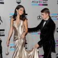 Selena Gomez contou em entrevista a David Letterman, em 18 de março de 2013, que já fez Justin Bieber chorar