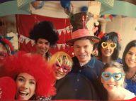 Silvio Santos ganha festa de aniversário divertida e posa rodeado pela família
