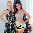 Angélica e Anitta posam juntas
