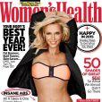 Britney Spears mostra boa forma em foto de capa de revista com biquíni rosa e preto. As fotos foram divulgadas nesta terça-feira, 16 de dezembro de 2014