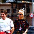 Segunda a gaúcha, Ayrton Senna foi o amor da vida dela. O namoro iniciou em dezembro de 1988 e chegou ao fim em março de 1990. Durante o relacionamento, o piloto costumava aparecer de surpresa na casa da rainha de helicóptero e chegou a se embrulhar para presente e bater na sua porta