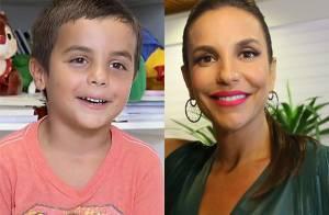 Ivete Sangalo diz que filho tem veia artística, mas descarta carreira: 'Criança'