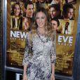 Ela posou para fotos durante a première do filme 'New Year's Eve', em Nova Iorque em dezembro de 2011