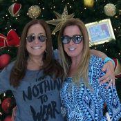 Susana Vieira e Zilu Godoi se encontram em shopping: 'Minha amiga querida'