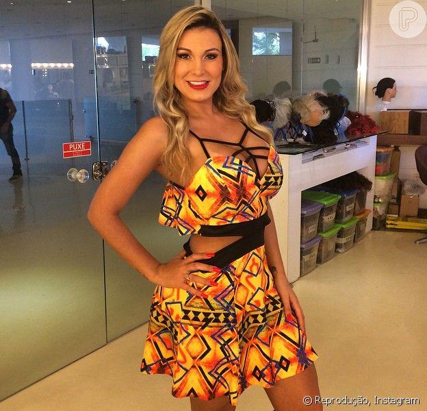 Andressa Urach tem alta após 25 dias de internação: 'Me recupero bem' - Purepeople