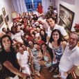 Rodrigo Simas, Bruno Gissoni e Felipe Simas se reúnem com a família e passam o Natal Juntos