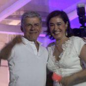 Lilia Cabral e outros famosos curtem Réveillon no Copacabana Palace. Veja fotos!
