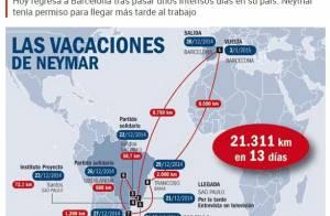Neymar volta a Barcelona e tem destaque na mídia espanhola após folga no Brasil