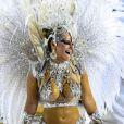 Também pelo Salgueiro, Viviane Araújo arrasou com uma fantasia avaliada em R$ 200 mil, em 2013