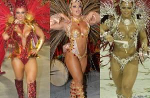 Relembre Viviane Araújo, a Naná de 'Império', nos últimos 10 anos de Carnaval!