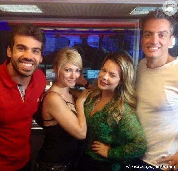 Fernanda Souza revela o estilo da roupa de Thiaguinho para o casamento: 'Clássico', disse ela em entrevista ao programa 'De Cara', da rádio 'FM O Dia', nesta quarta-feira, 7 de janeiro de 2015