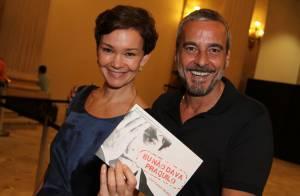 Alexandre Borges e Julia Lemmertz posam juntos em estreia de peça de teatro