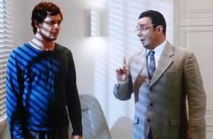 Novela 'Alto Astral': Caíque (Sergio Guizé) deixa clínica com ajuda de Castilho