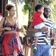 Hoje, Taís Araújo e Lázaro Ramos continuam casados e são pais de João Vicente, de 3 anos. A atriz também está prestes a dar à luz Maria Antônia