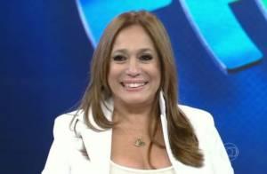 Susana Vieira deixa escapar palavrão no palco do 'Domingão do Faustão'