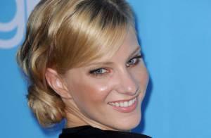 Heather Morris, a Brittany de Glee, está grávida de seu primeiro filho