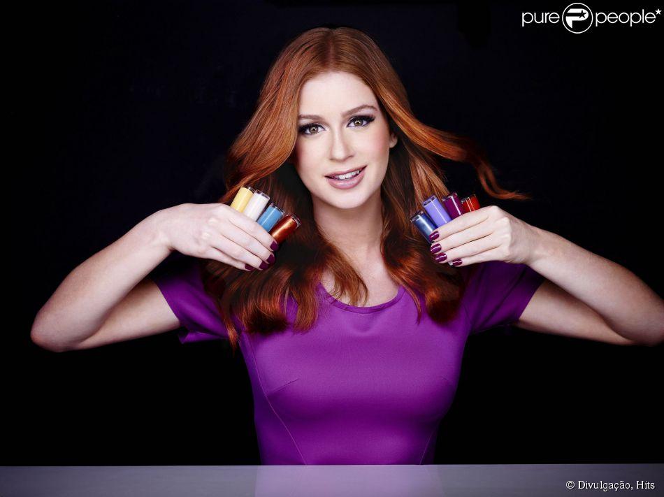 Marina Ruy Barbosa tem uma linha de esmaltes em parceria com a Hits  Speciallità 3c4852414d