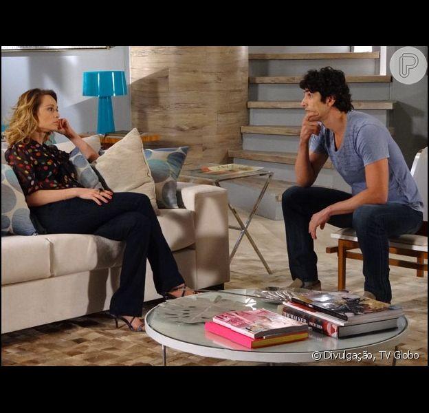 A relação de Nando (Reynaldo Gianecchini) e Juliana (Mariana Ximenes) será desastrosa, adianta Silvio de Abreu, autor de 'Guerra dos Sexos', em 4 de abril de 2013