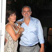 Glória Pires e Orlando Morais comemoram 25 anos de casamento: 'Só nós dois'