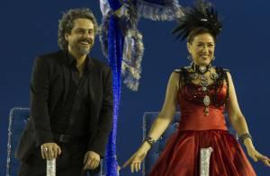 Elenco de 'Império' grava desfile de Carnaval em sambódromo do Rio. Veja fotos!