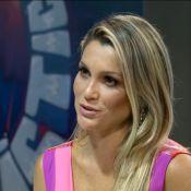Flávia Alessandra mostra rotina com as filhas Olívia e Giulia no 'Fantástico'