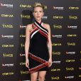 Scarlett Johansson mexibe boa forma quatro meses após o nascimento de sua filha, Rose