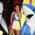 Katy Perry cantou seus maiores sucessos do Super Bowl 2015