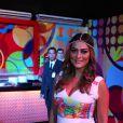 Juliana Paes exibe barriguinha de grávida no Carnaval