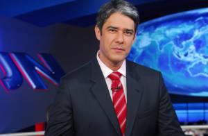 William Bonner descontrai no 'Jornal Nacional'. Confira situações inusitadas!