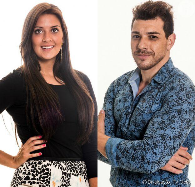 Tamires e Cézar podem engatar um romance a qualquer momento dentro da casa do 'Big Brother Brasil 15'