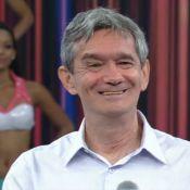 Faustão revela que Serginho Groisman, de 64 anos, será pai: 'Um menino'
