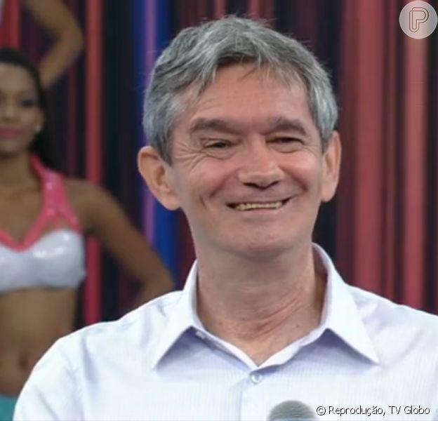 Serginho Groisman anunciou que será pela pai pela primeira vez, neste domingo, 8 de fevereiro de 2015