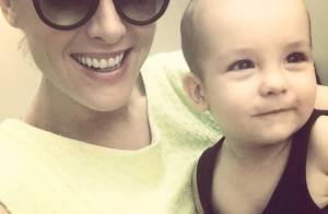 Ana Hickmann mostra os primeiros passos do filho em vídeo: 'Orgulho da mamãe'