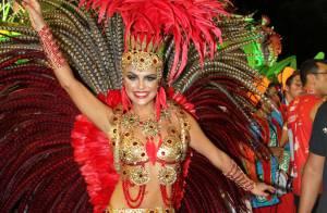 Carnaval: Paloma Bernardi publica vídeo de sua aula de samba. 'Suando a camisa'