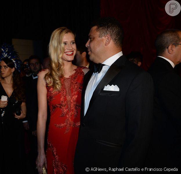 Celina Locks, nova namorada de Ronaldo, falou do ex-jogador: 'Ele é humilde, como eu'
