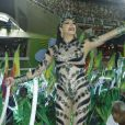 Christine Torloni foi convidada para ser rainha de bateria da Grande Rio