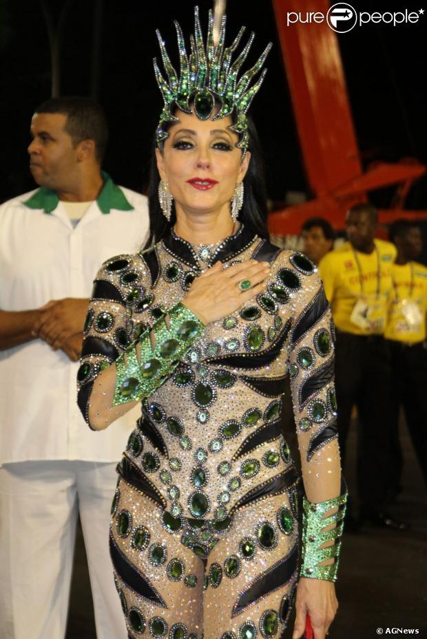 Christiane Torloni pode ser a rainha de bateria da Grande Rio em 2014