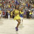 Juliana Alves é rainha de bateria da Unidos da Tijuca