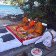 Monges celebram casamento de Luma Costa e Leonardo Martins