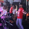 Ludmilla também se apresenou no mesmo evento que Anitta, o Rio