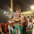 Josie Pessôa estreou este ano no Carnaval do Rio