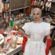 Lady Gaga vira meme nas redes sociais por causa de vestido usado no Oscar