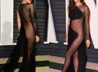 Rita Ora e Irina Shayk apostam em transparências em festa pós-Oscar 2015